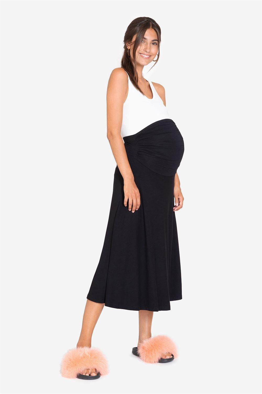 Sort graviditets nederdel Vores bambus er Økologisk dyrket