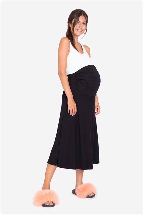 Sort graviditets nederdel - Vores bambus er Økologisk dyrket